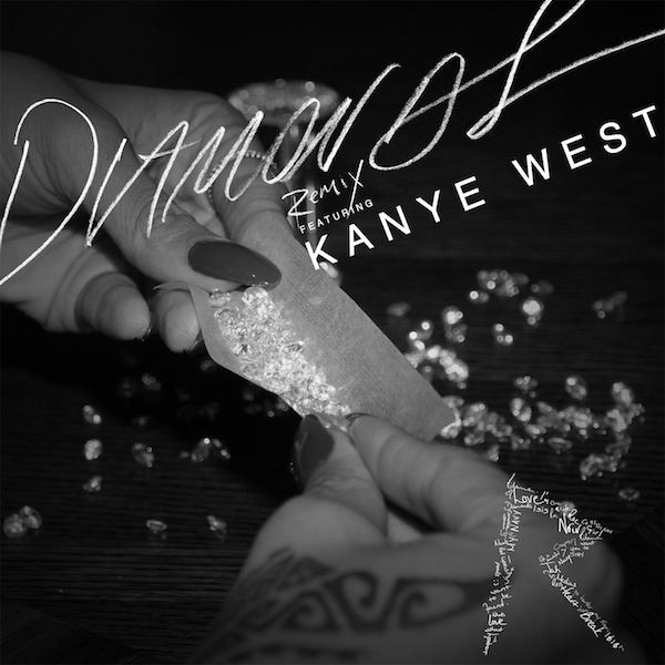 Diamonds Remix ft Kanye West – Rihanna