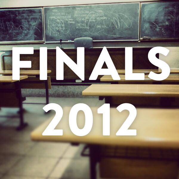 The Finals Playlist: 2012